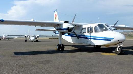 Pesawat milik Sunbird Aviation yang terhempas . - Foto Facebook Sunbird Aviation