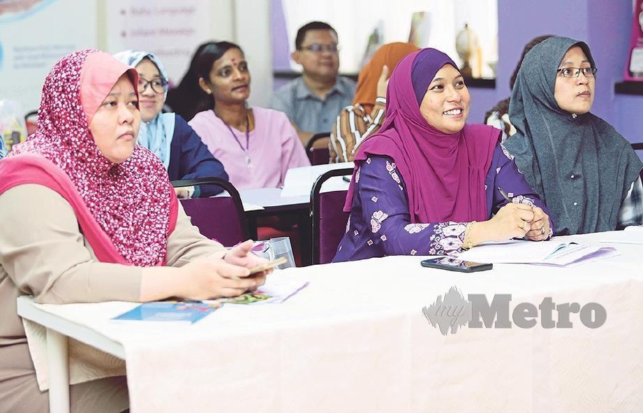 SEBAHAGIAN peserta yang mengambil bahagian. FOTO: Salhani Ibrahim