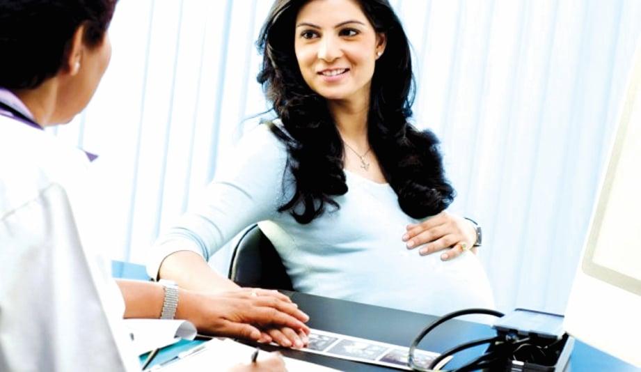 JALANI pemeriksaan kesihatan sepanjang kehamilan.