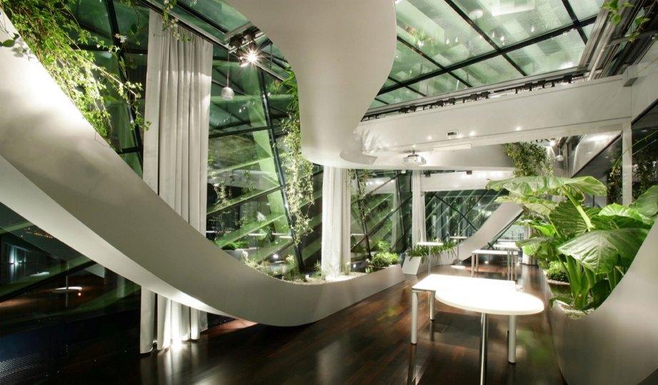 DARI bumbung, siling, kemasan dinding atau tingkap hingga tanaman hijau, semuanya menjadi elemen penyeri Panoramic Garden CCIS.
