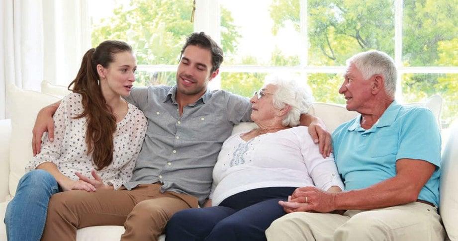 GEMBIRAKAN ibu bapa dan mentua ikut kemampuan diri.