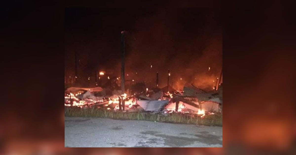 180 hilang tempat berteduh, rumah panjang terbakar