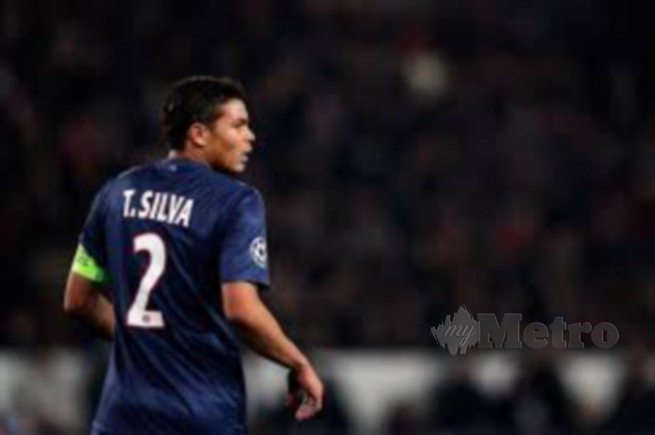 Thiago Silva mahu rantai Haaland. FOTO Agensi