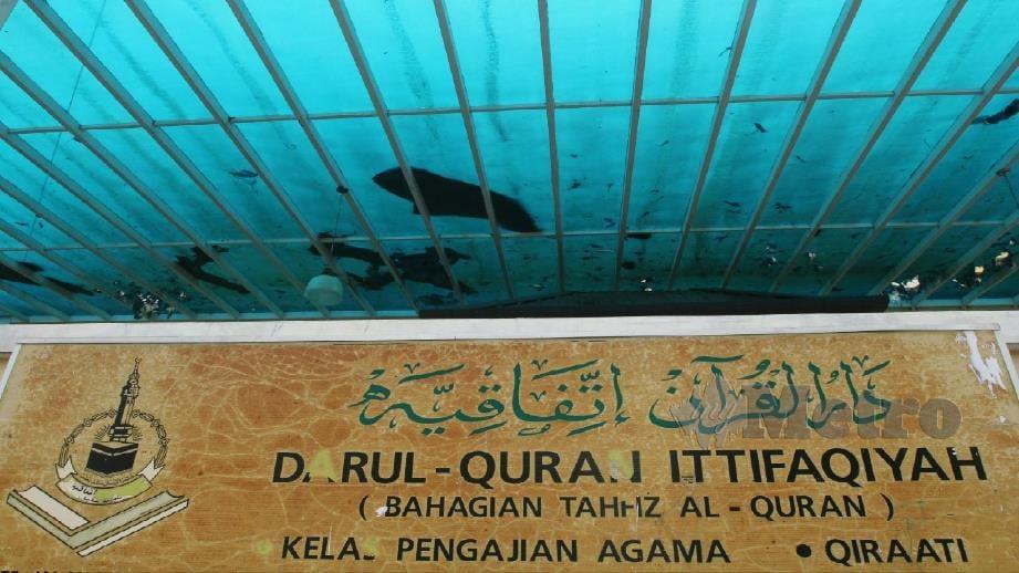 PUSAT Tahfiz Darul Quran Ittifaqiyah, Kuala Lumpur. FOTO Mustafa Kamal.