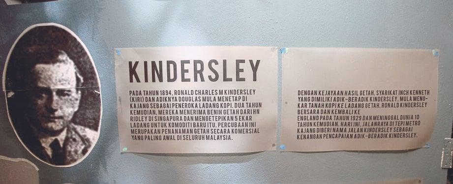 RONALD Charles M Kindersley