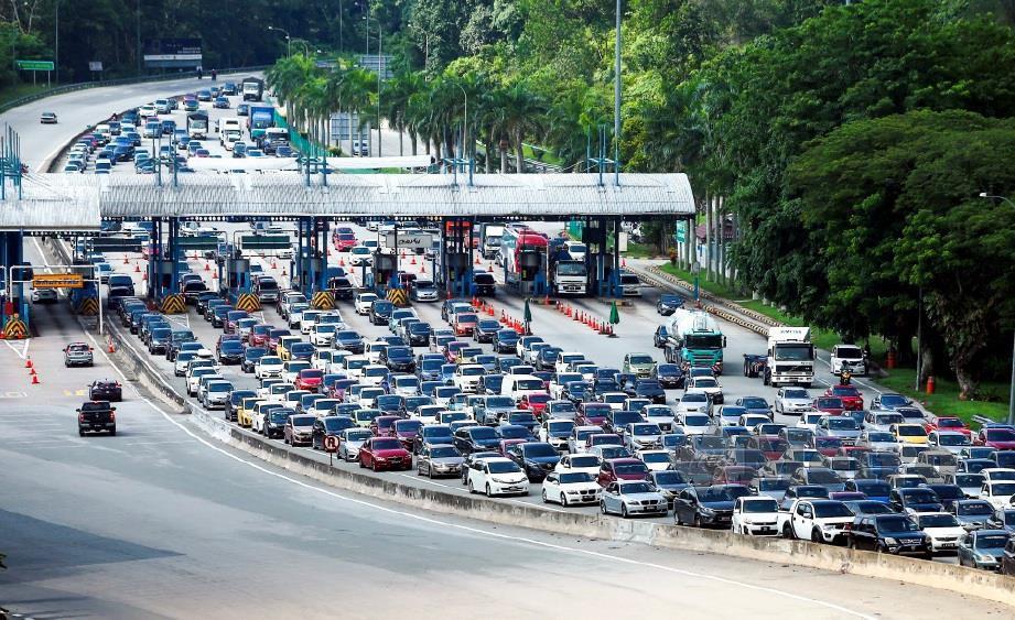 KERAJAAN cadang ambil alih empat lebuh raya di Lembah Klang. FOTO: Muhd Zaaba