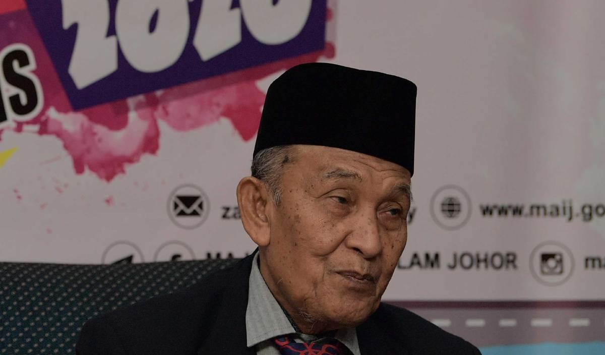 TOSRIN Jarvanthi pada sidang media program pra perasmian 'End Year Of Zakat' di Pusat Islam Iskandar Johor. FOTO BERNAMA
