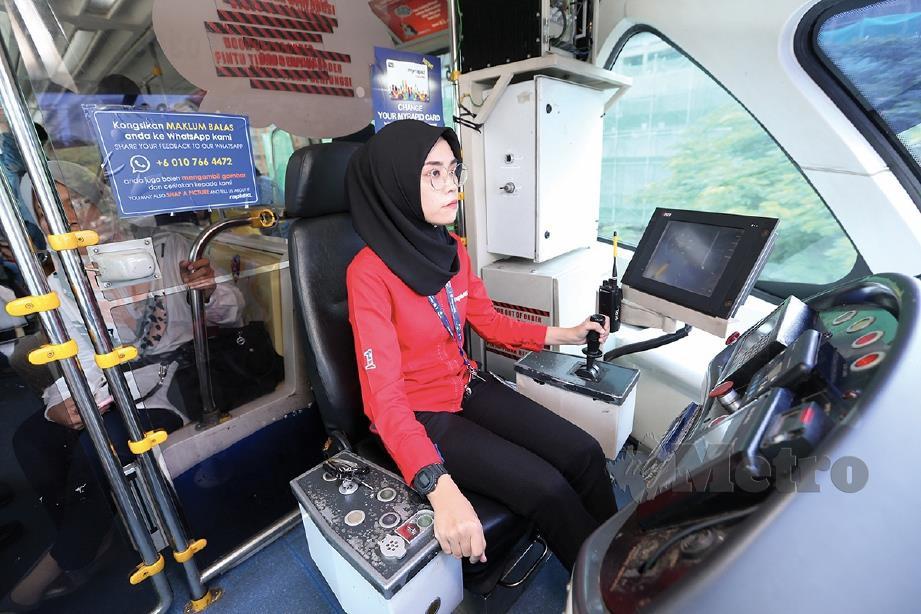 Si manis pandu monorel | Harian Metro