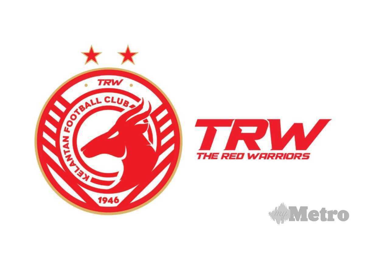 Logo baharu Kelantan FC. FOTO Ihsan TRW Kelantan FC