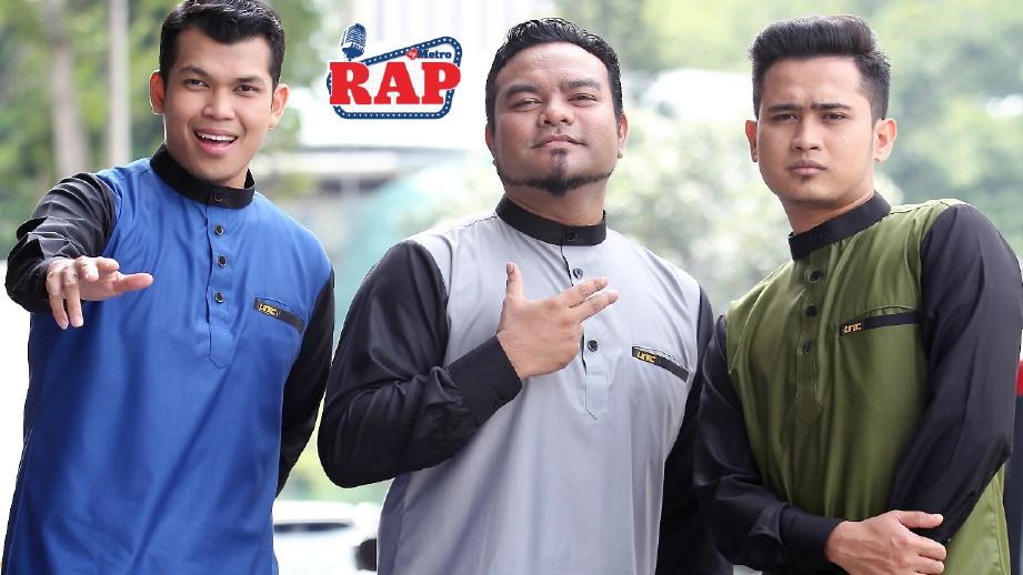 Najdi (kanan) tarik diri dari Unic kerana bergaduh dengan Bazli (tengah). FOTO Arkib NSTP.