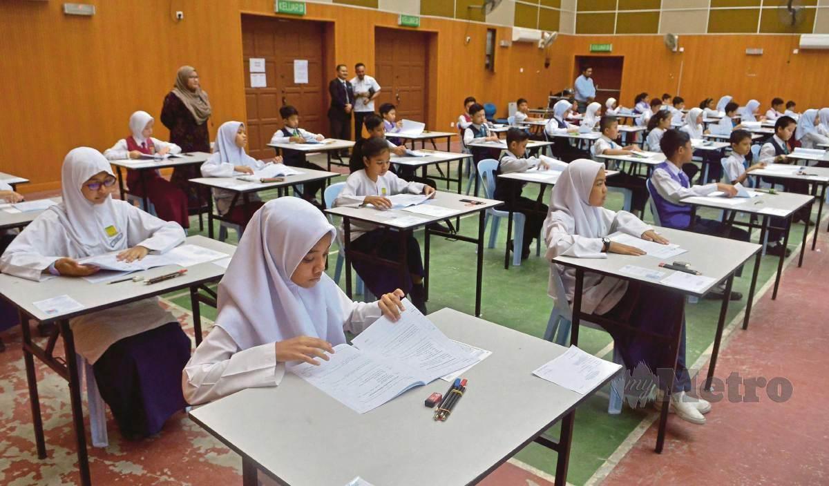 PEMANSUHAN UPSR bukti komitmen KPM melestarikan sistem pendidikan negara. FOTO Arkib NSTP