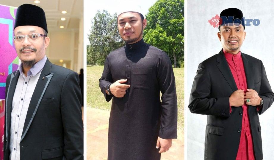 DARI kiri, Ustaz Kazim, Hizbur Rahman dan Dr Mohd Izhar. FOTO NSTP