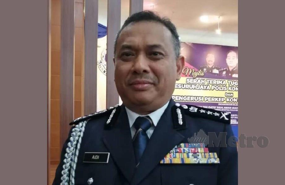 PESURUHJAYA Polis Sarawak, Datuk Aidi Ismail yang dijangkiti Covid-19 kini disahkan sembuh.