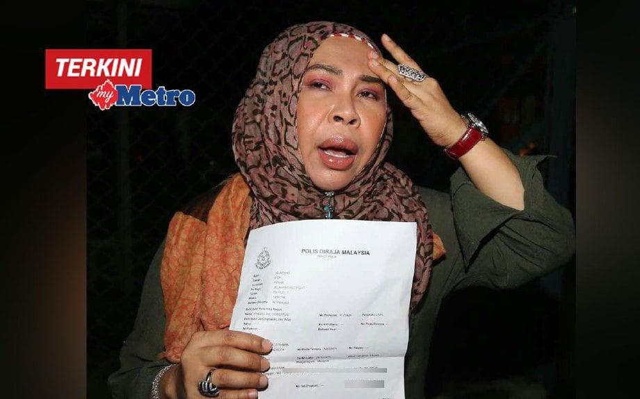 Video: Datuk Seri Vida buat laporan polis, hampir ditipu RM30,000 terima panggilan scam