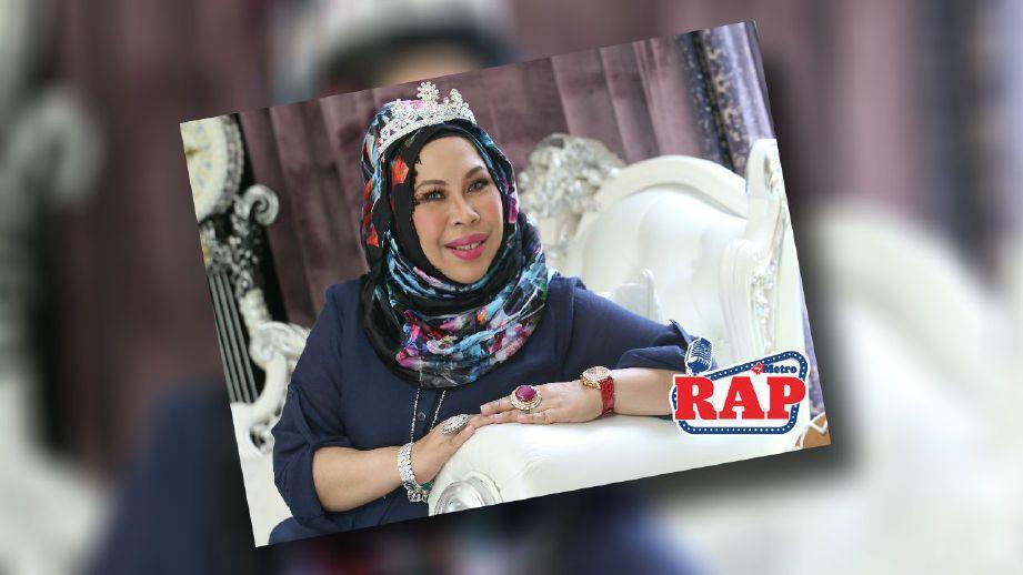 Datuk Seri Vida promosikan produknya kepada semua dan bukannya segelintir pihak saja. FOTO Nurul Shafina Jemenon.