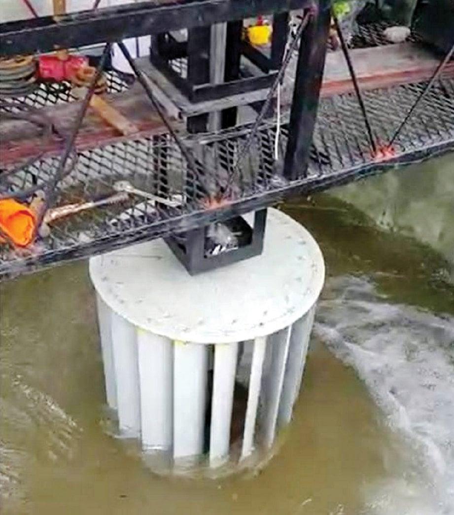PERCUBAAN turbin.