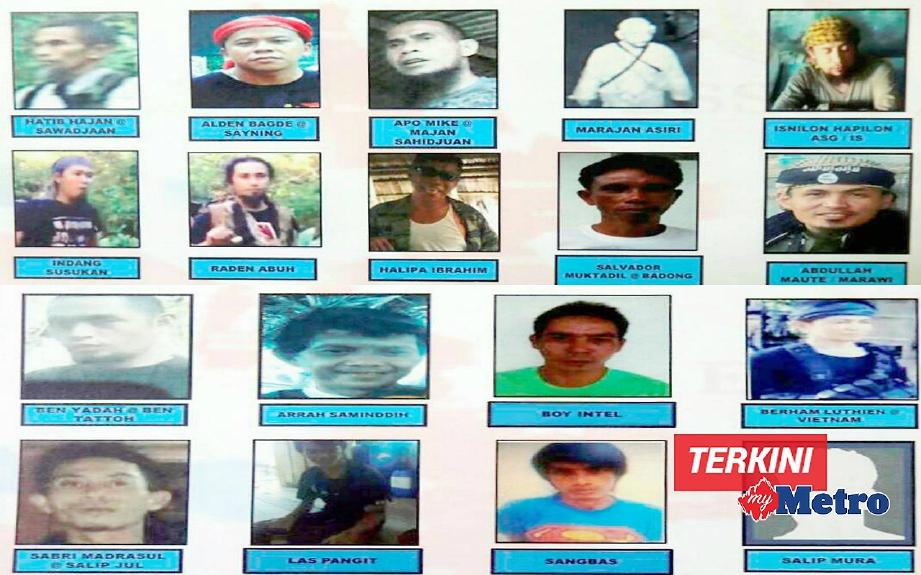 18 individu yang dikehendaki bagi membantu siasatan kes-kes jenayah rentas sempadan di ESSZONE. FOTO Ihsan ESSCOM