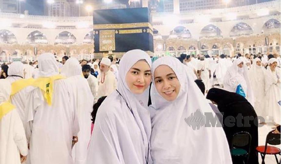 WANY Hasrita di Makkah. FOTO: Instagram Wany Hasrita
