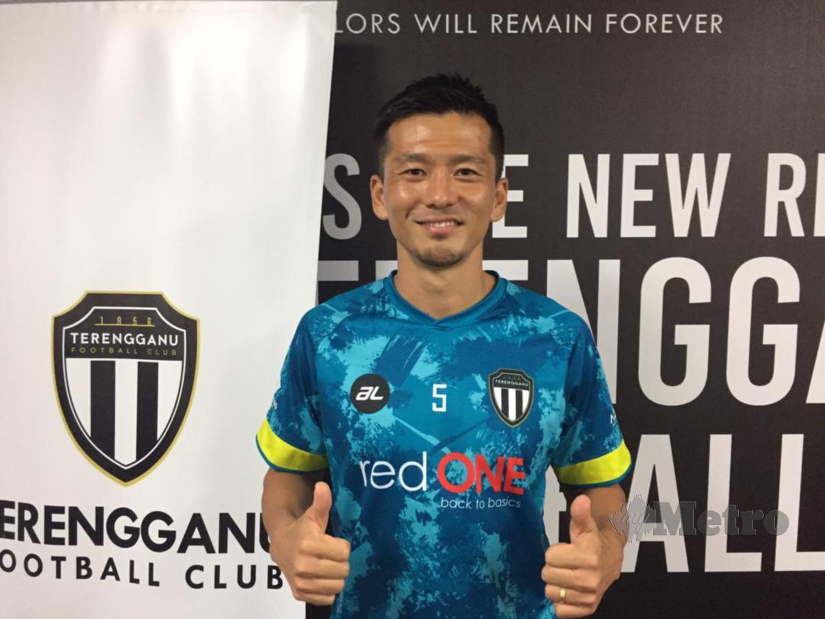 WATANABE mahu jadi watak penting pasukan Terengganu FC II musim ini. FOTO Malik Muhamad