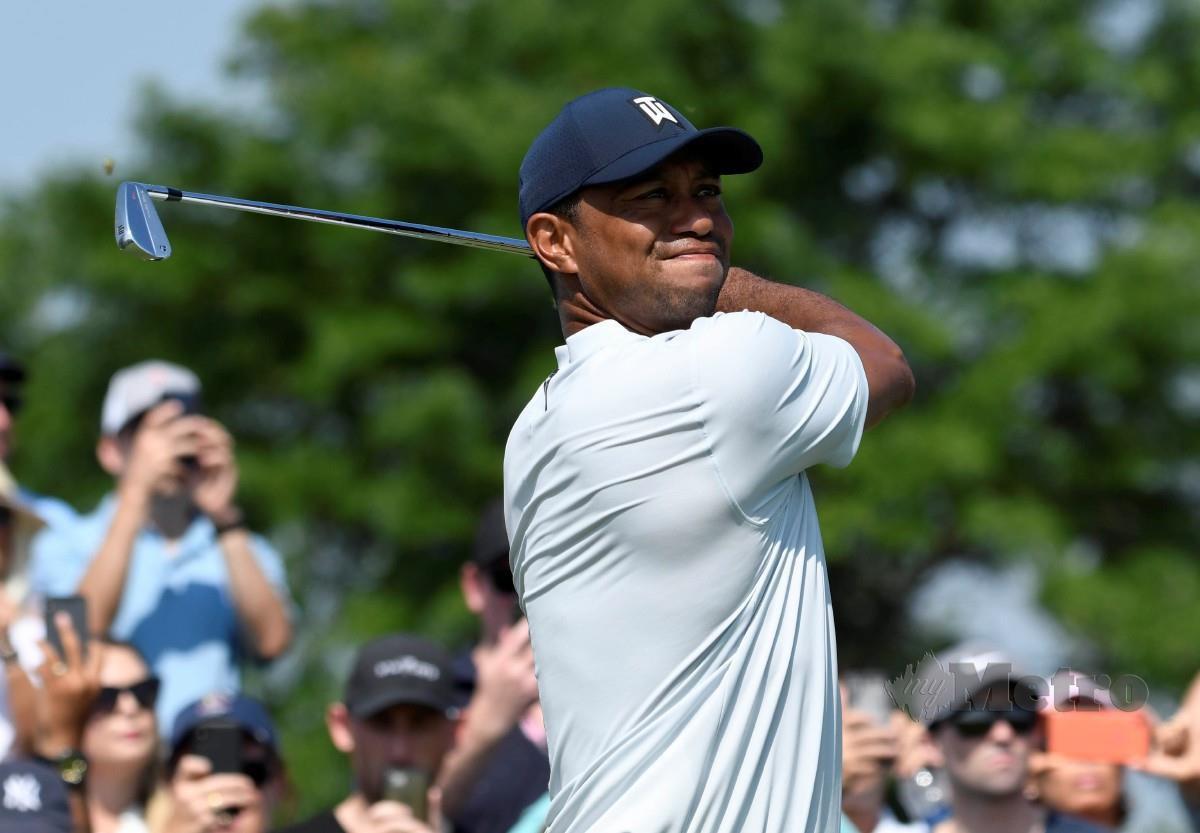 Tiger Woods mahu mempertahan gelaran pada Kejohanan Zozo yang dijadualkan bermula minggu ini. FOTO Agensi
