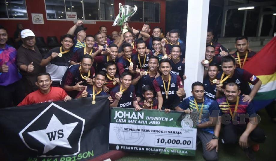 Pemain dari Divisyen Satu dan Dua Liga Melaka 2019 berpeluang terpilih membarisi skuad M3 MUSA. FOTO Nazri Abu Bakar