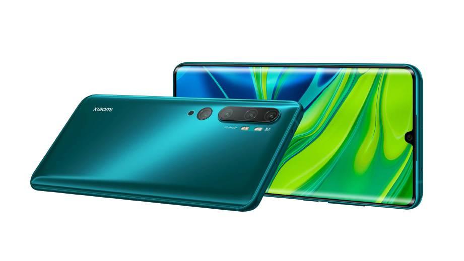 XIAOMI Mi Note 10 mempunyai tetapan lima lensa (penta) dengan lensa utama 108MP.