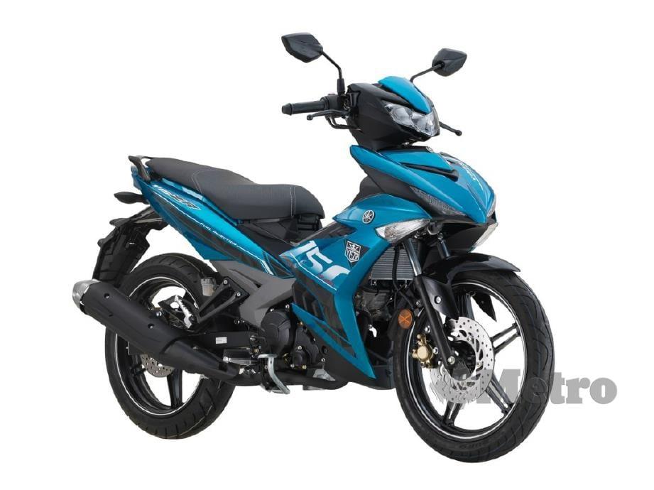 Yamaha Y15ZR V2 generasi kedua.