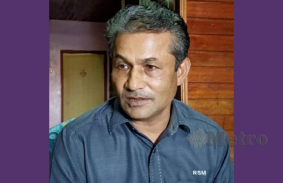 Presiden Persatuan Rohingya Kedah/Perlis, Yussof Ali.