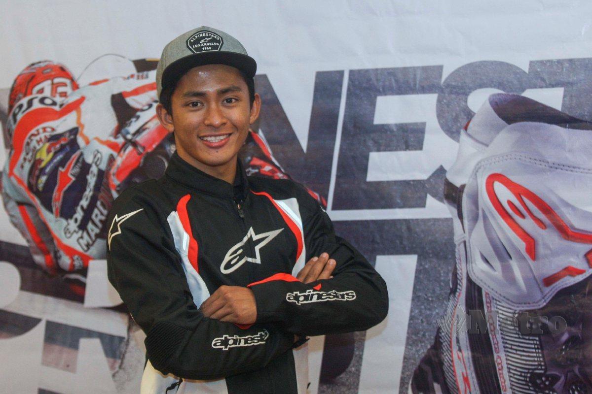 PENGURUS SIC Racing Team, Zulfahmi Khairuddin. FOTO NSTP